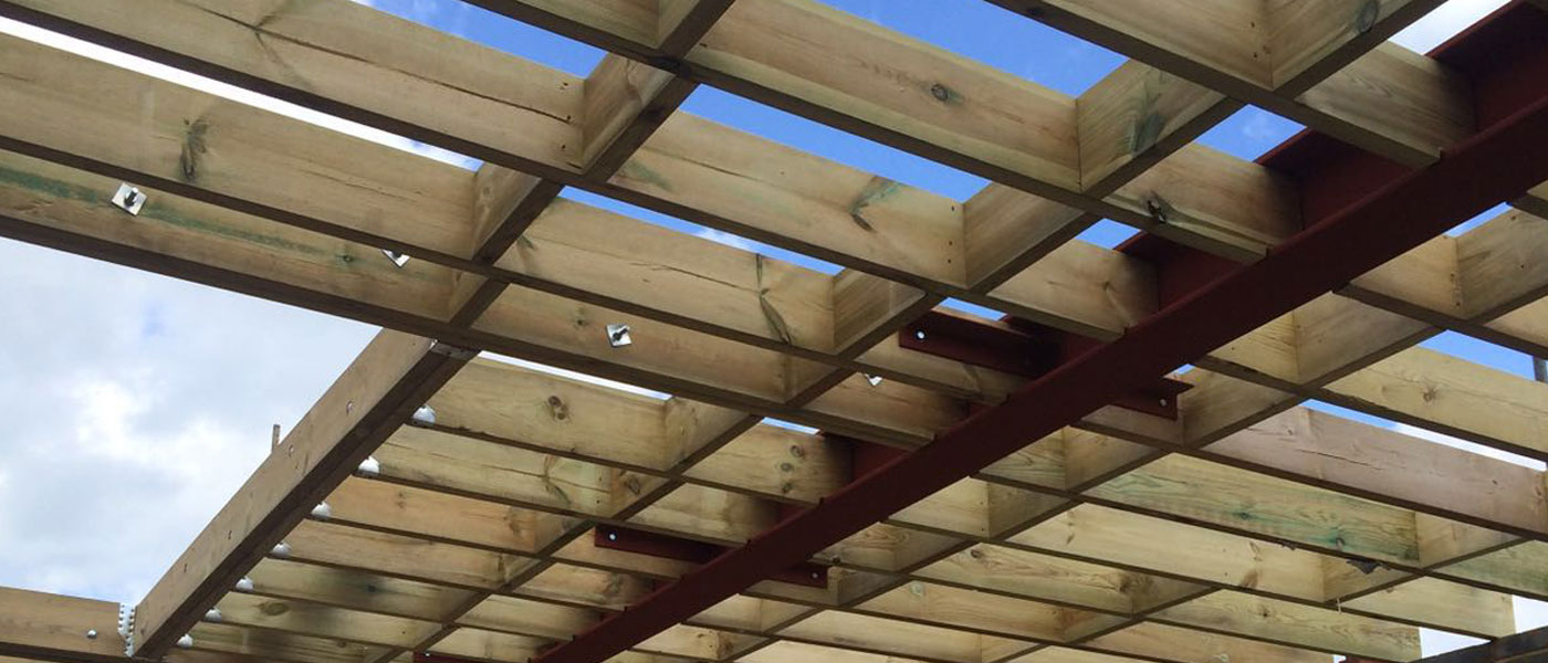 slide wood joists